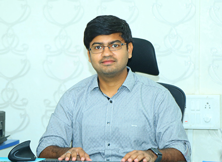 Mr. Sushil, Director of Pallavi - Keesara